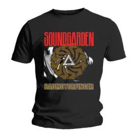 Soundgarden - Badmotor Finger Black FÉRFI PÓLÓ