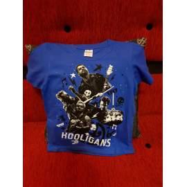 HOOLIGANS - LIVE Gyerek kék póló f40cbfbc3b