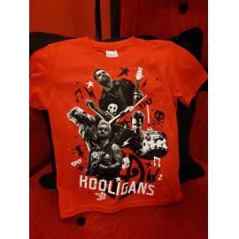 HOOLIGANS - LIVE Gyerek piros póló 18a85101f3