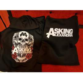 ASKING ALEXANDRIA BLACK SHADOW BELEBÚJÓS PULÓVER