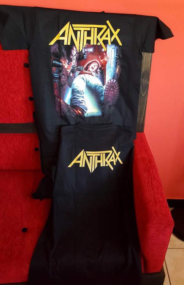 Anthrax Férfi póló