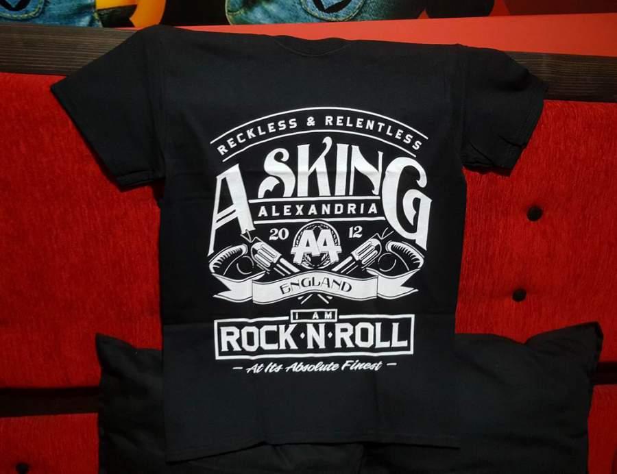 ASKING ALEXANDRIA férfi póló
