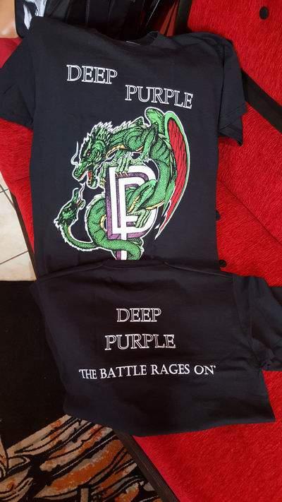 Deep Purple FÉRFI PÓLÓ