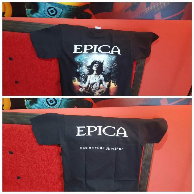 Epica - Design your universe férfi póló