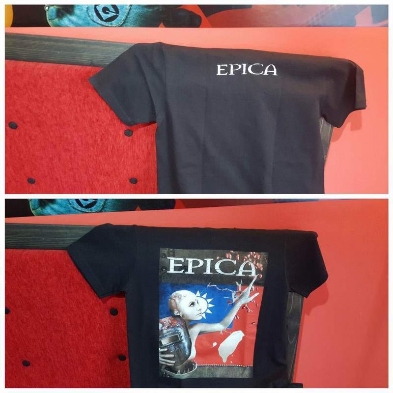 EPICA férfi póló