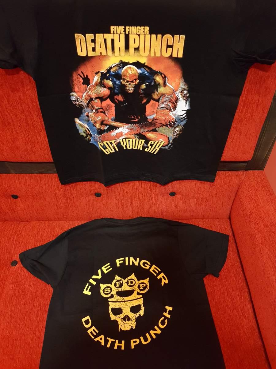 FIVE FINGER DEATH PUNCH (5FDP) - GOT YOUR SIX FÉRFI PÓLÓ