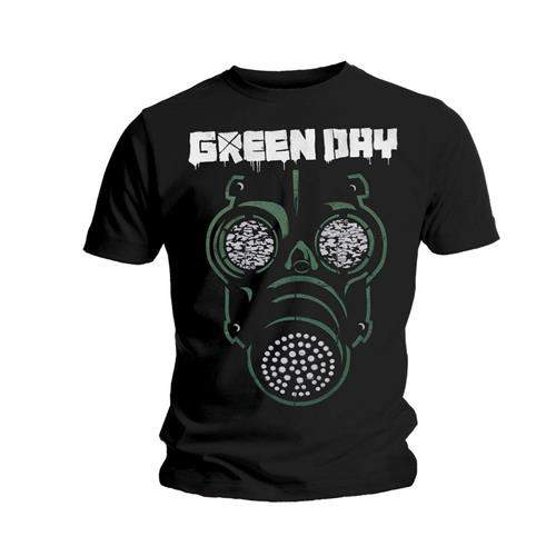 Green Day - Green Mask FÉRFI PÓLÓ