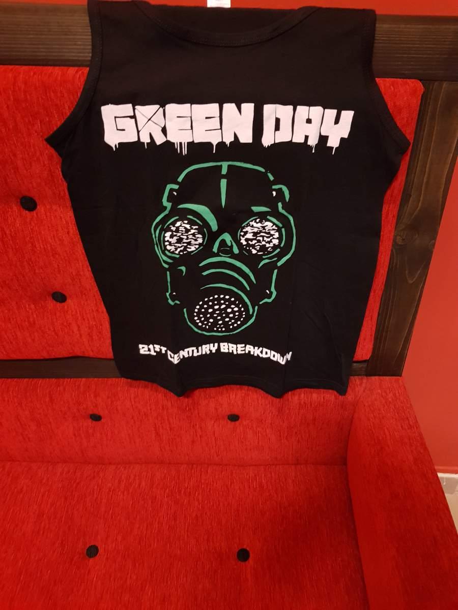 GREEN DAY - MASK FÉRFI TRIKÓ