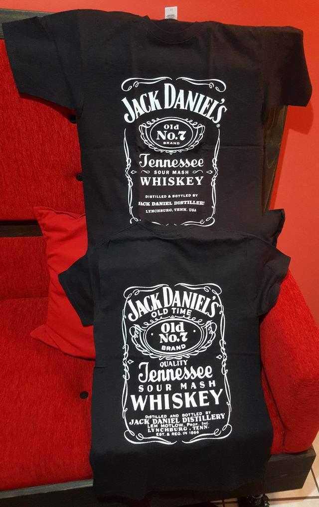 Jack Daniels Classic Logo férfi póló
