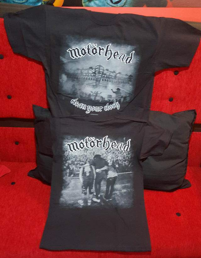 MOTÖRHEAD CLEAN YOUR CLOTH férfi póló