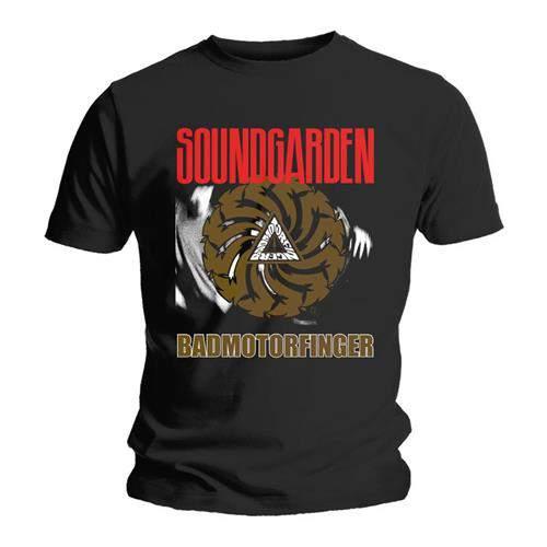 Soundgarden - Badmotor Finger Black FÉRFI PÓLÓ