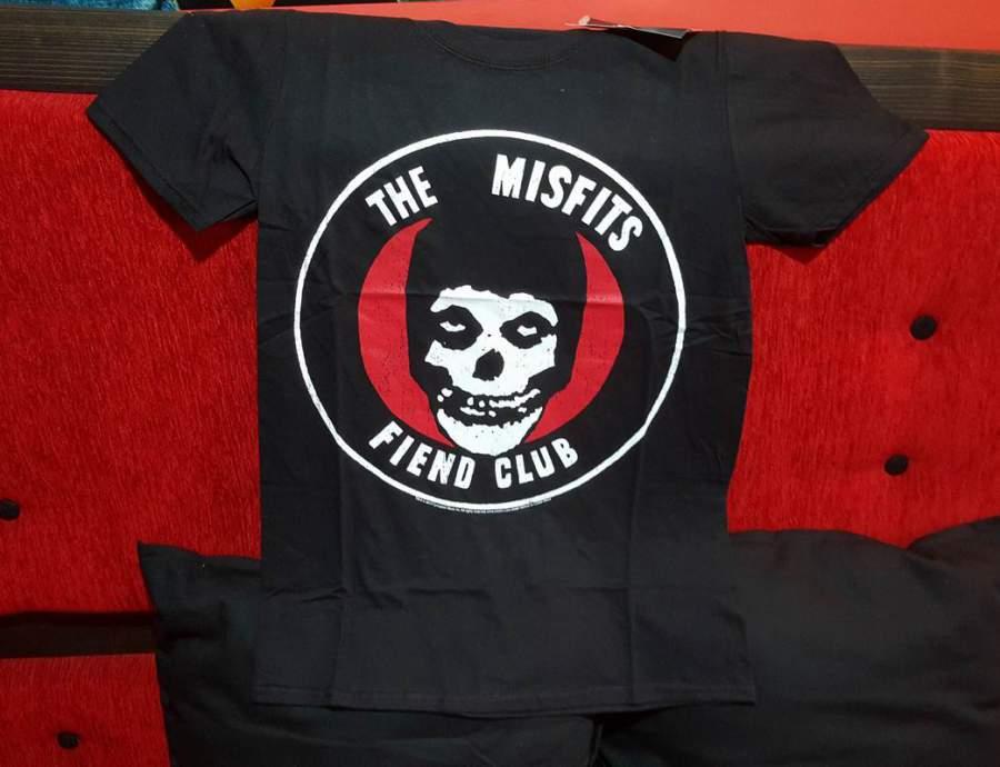 THE MISFITS FIEND CLUB férfi póló