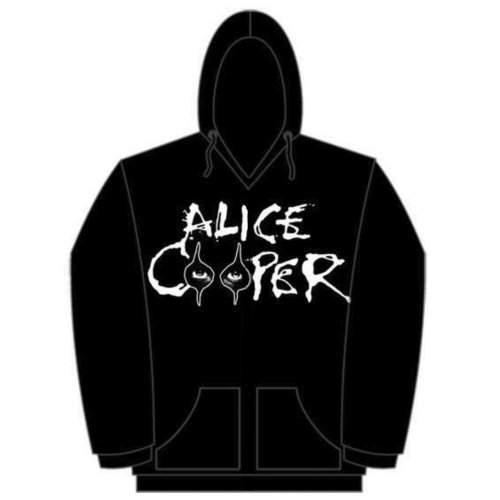 Alice Cooper - SZEM Logo FÉRFI PULÓVER