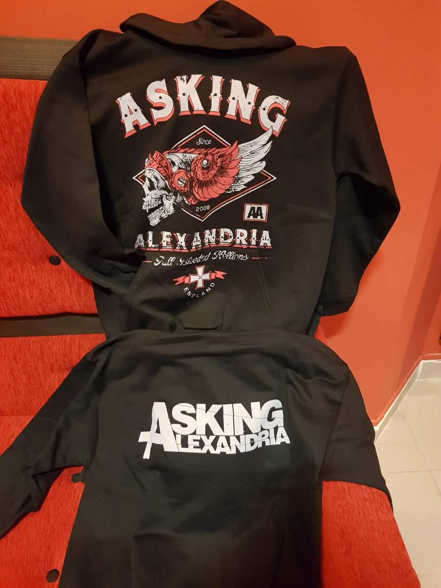 ASKING ALEXANDRIA HELION ZIP PULÓVER