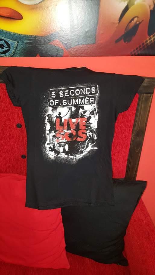 5 Seconds of Summer - Live SOS Női póló