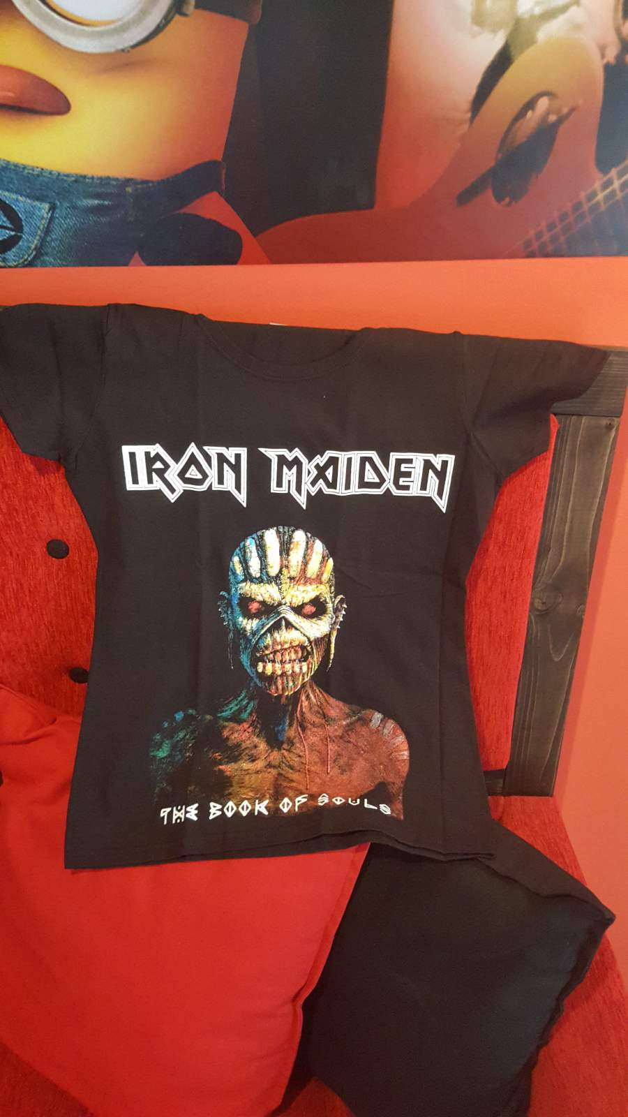 IRON MAIDEN BOOK OF SOULS NŐI PÓLÓ