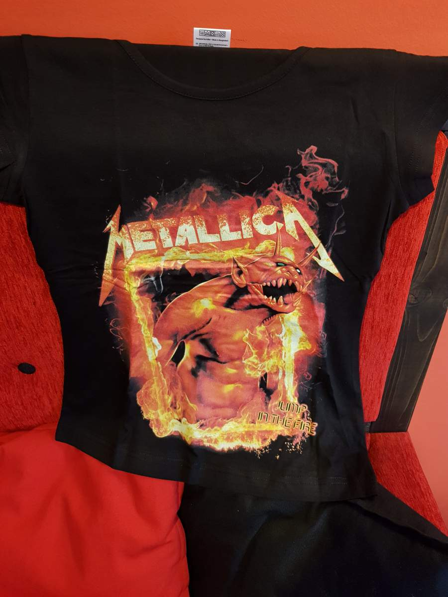 METALLICA LIMP IN THE FIRE NŐI PÓLÓ