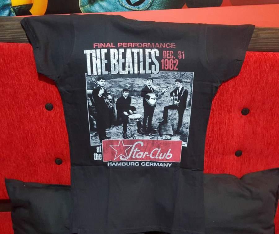 The BEATLES 1962 fekete női póló