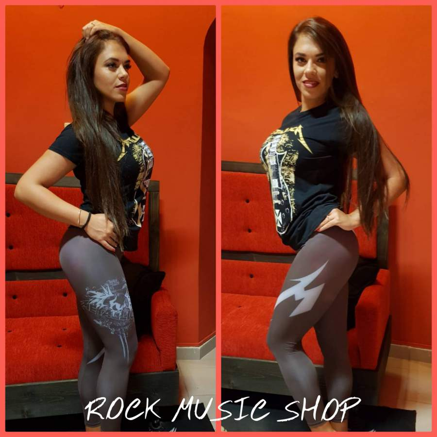 METALLICA NŐI LEGGINGS
