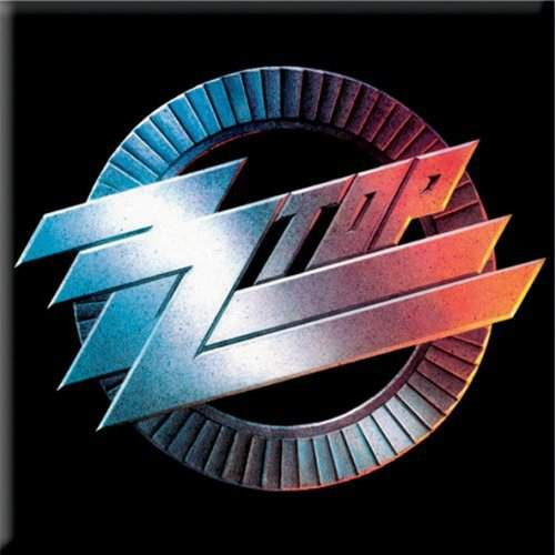 ZZ Top - Circle Logo HŰTŐMÁGNES