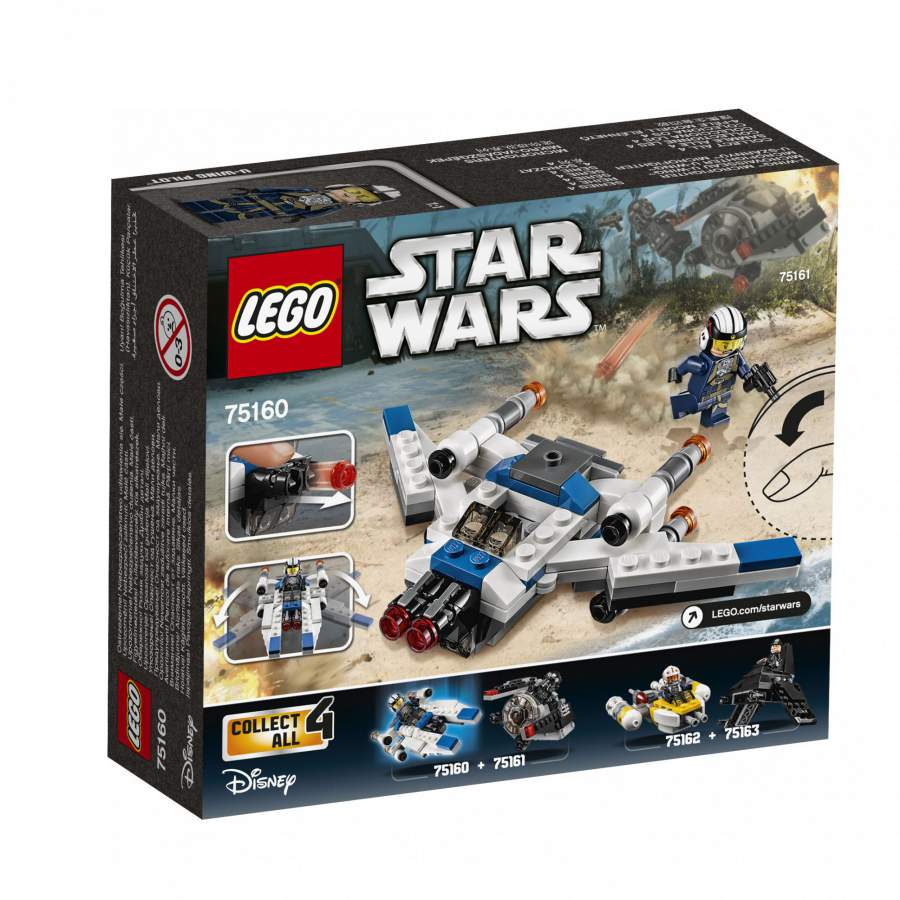 LEGO® - Star Wars TM U-szárnyú™ Microfighter (75160)