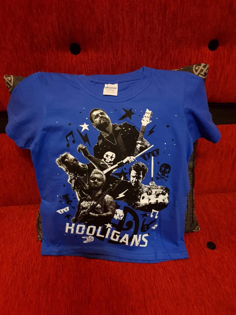 HOOLIGANS - LIVE Gyerek kék póló
