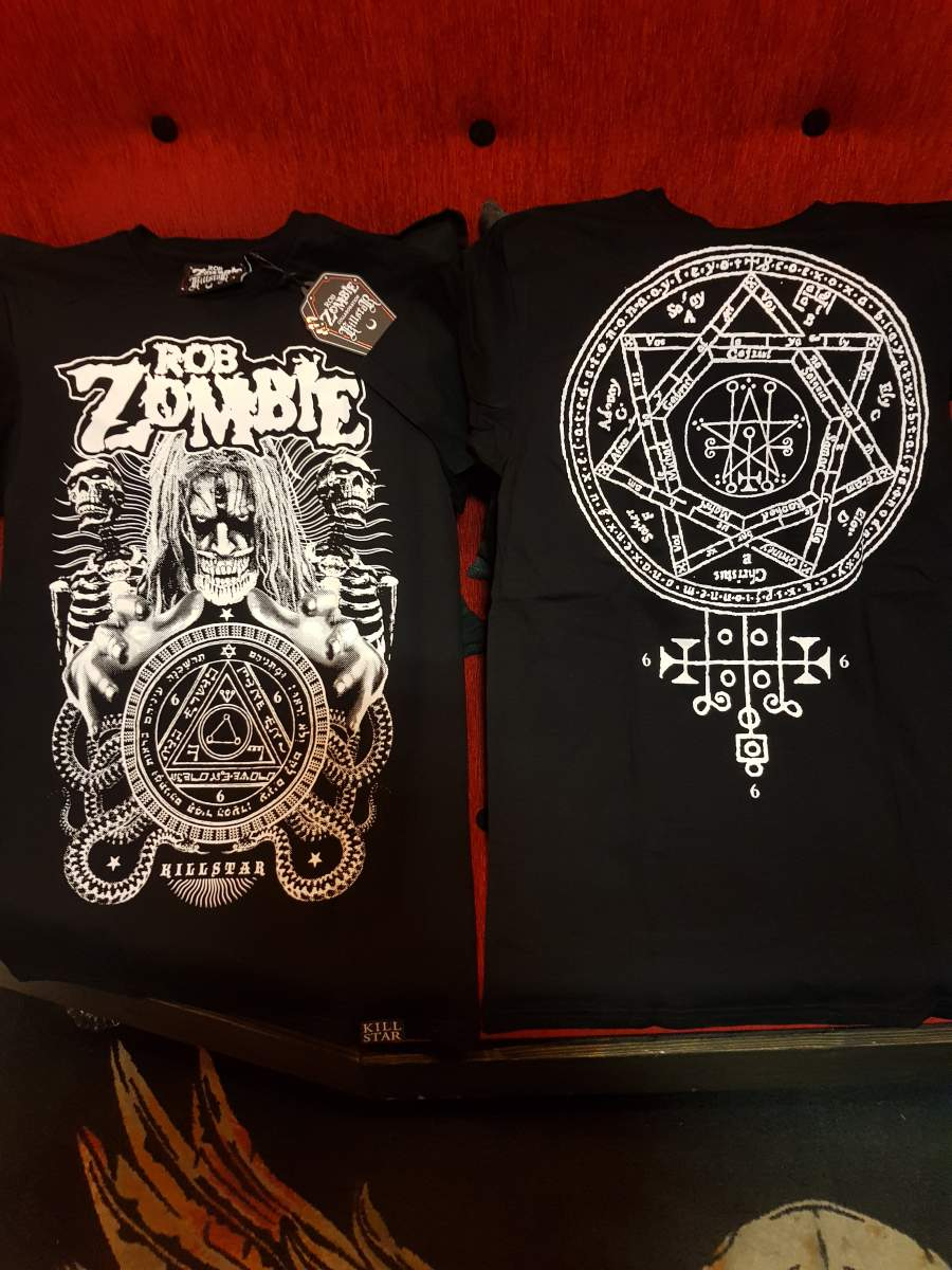 ROB ZOMBIE - KILLSTAR - MAGIC UNISEX PÓLÓ