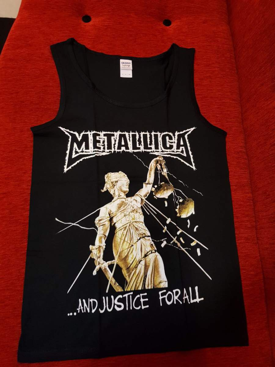 METALLICA  - AND JUSTICE FOR ALL UNISEX TRIKÓ