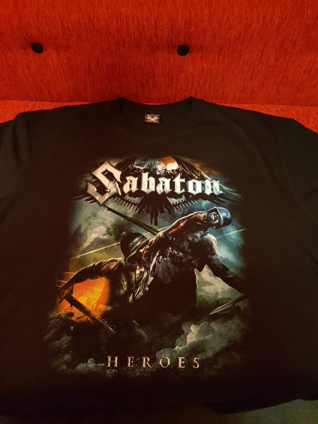 SABATON - HEROES I. FÉRFI PÓLÓ