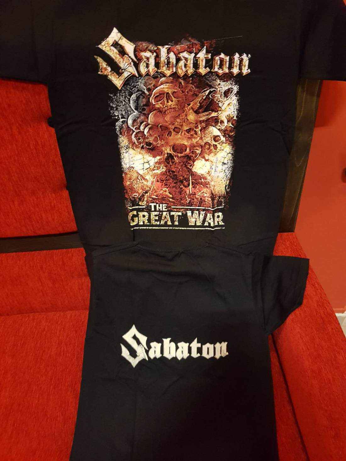 SABATON - THE GREAT WAR FÉRFI PÓLÓ