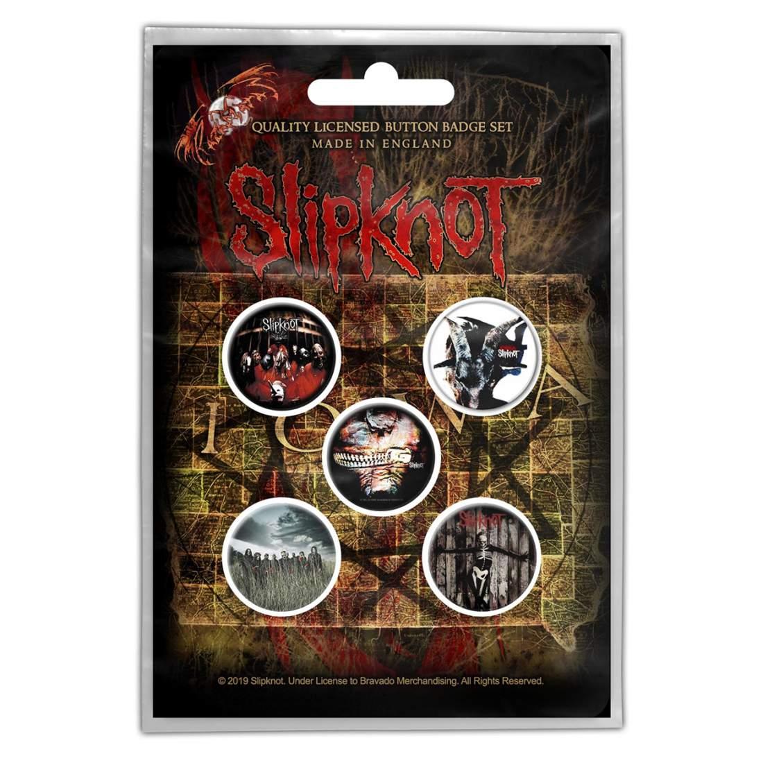 SLIPKNOT - ALBUMS 5 db-os KITŰZŐ SZETT