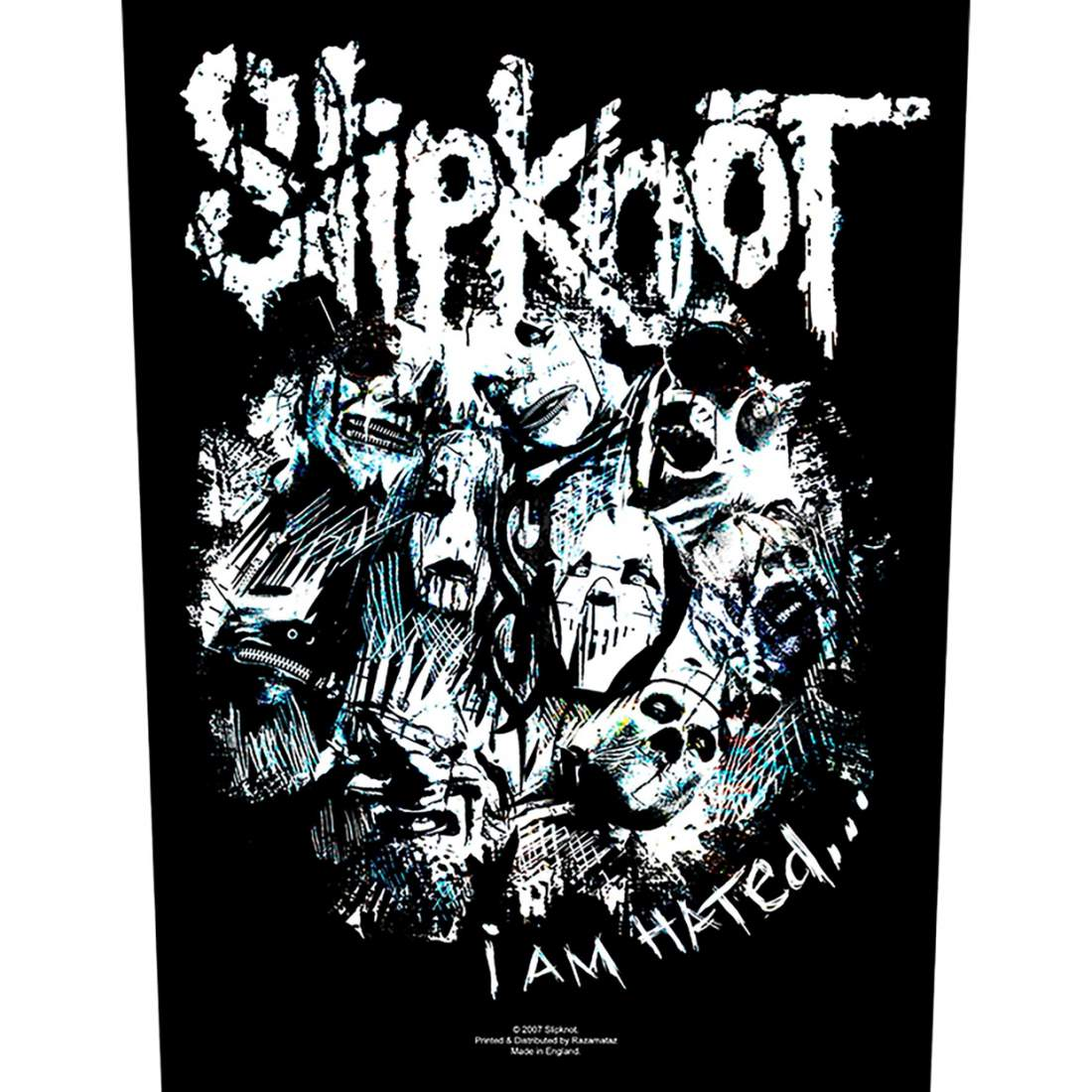 SLIPKNOT - I AM HATED HÁTFELVARRÓ