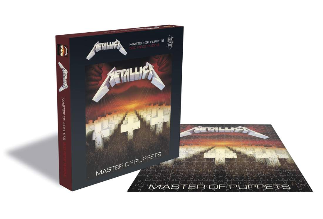 METALLICA - MASTER OF PUPPETS (500 DB-OS PUZZLE)