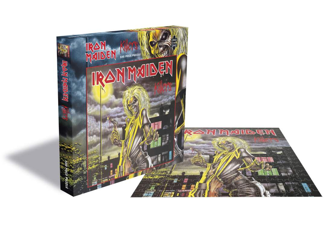 IRON MAIDEN - KILLERS (500 DB-OS PUZZLE)
