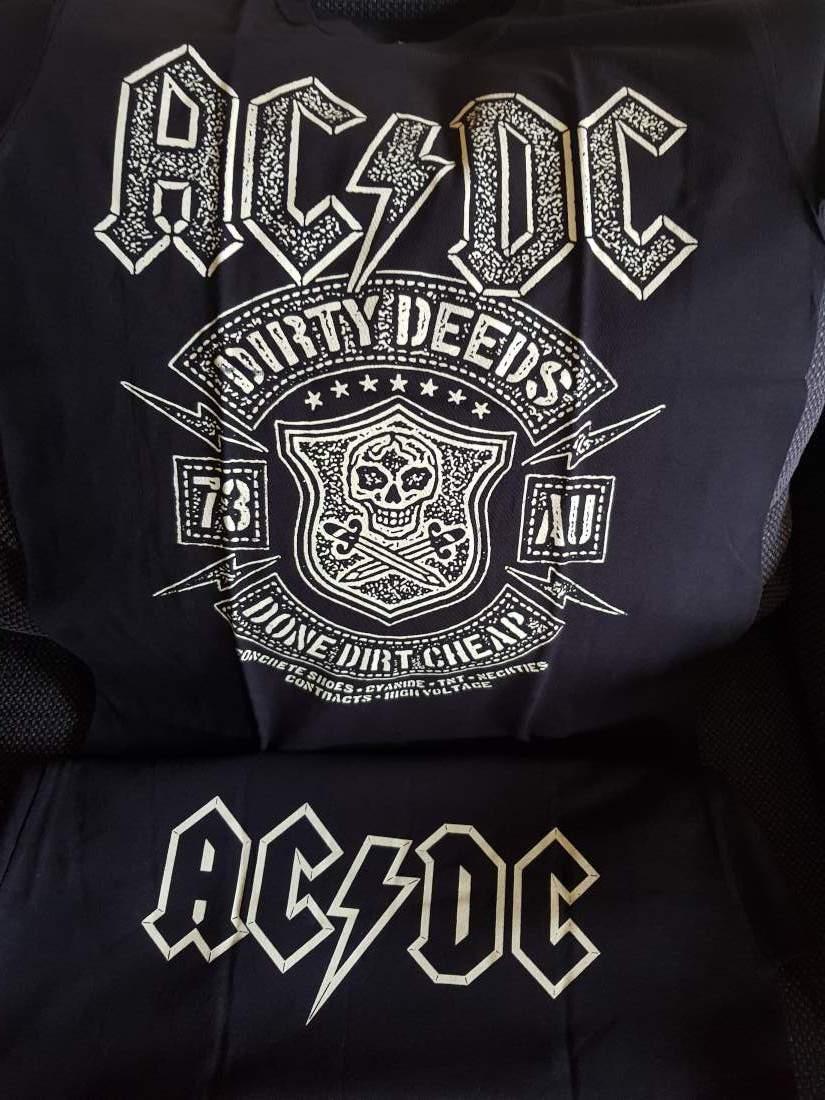 AC/DC - DIRTY DEEDS DONE DIRT CHEAP FÉRFI PÓLÓ