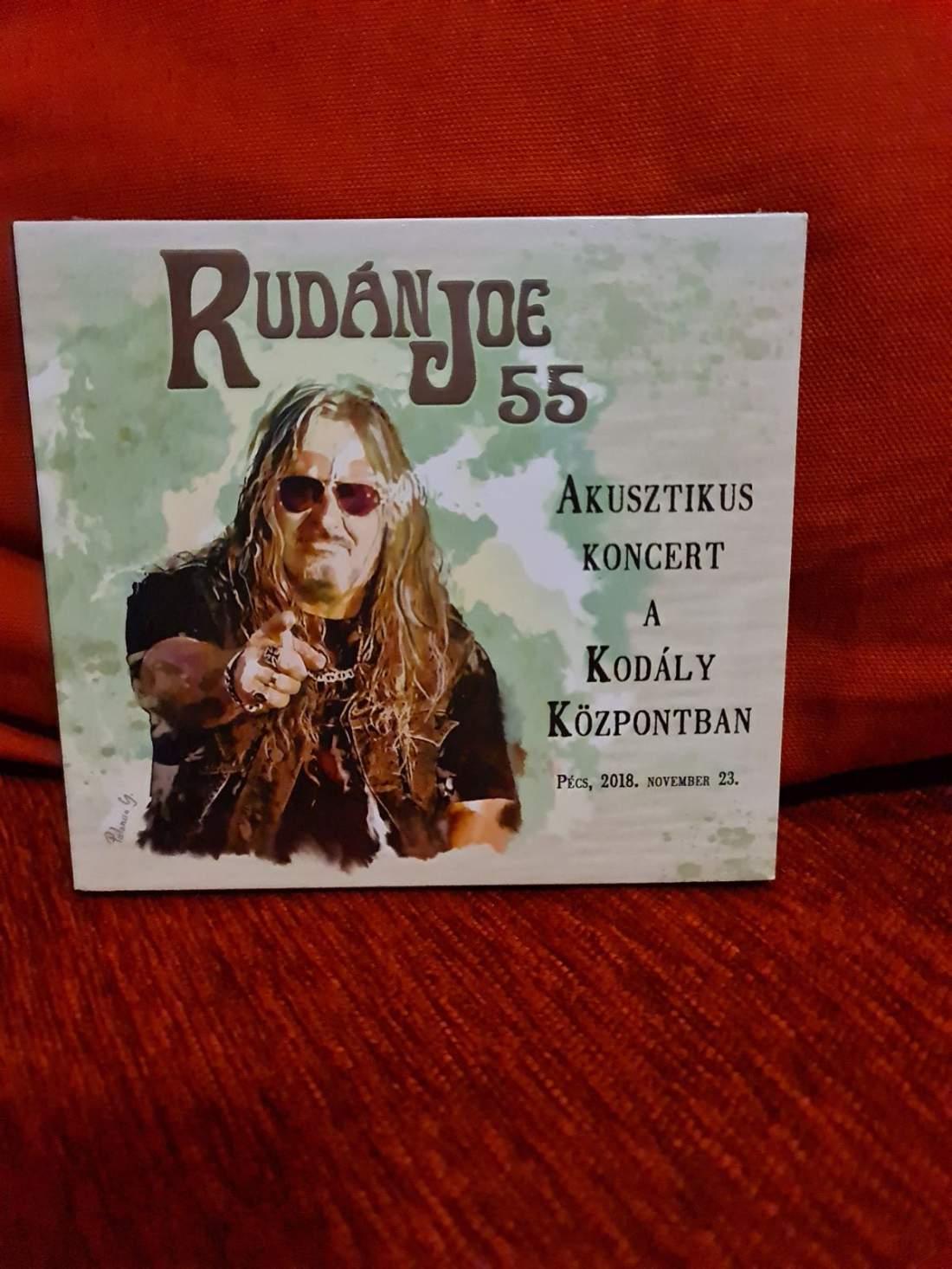 RUDÁN JOE - 55 - AKUSZTIKUS KONCERT A KODÁLY KÖZPONTBAN 2CD