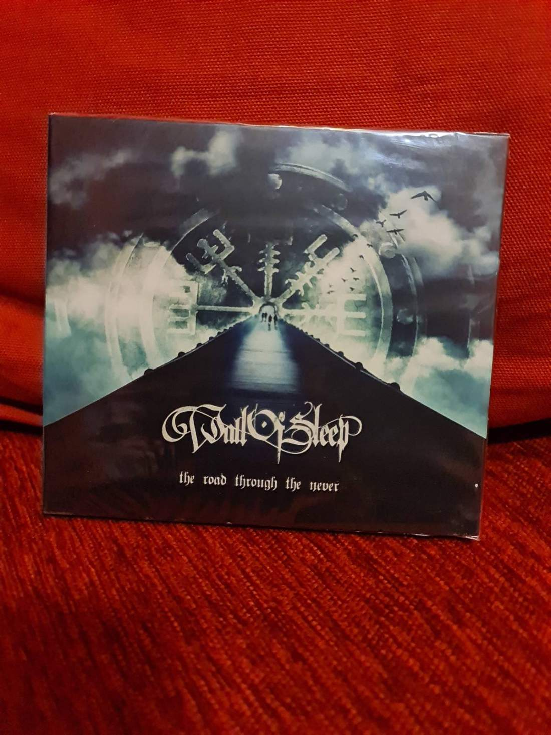 WALL OF SLEEP - THE ROAD THROUGH THE NEVER CD