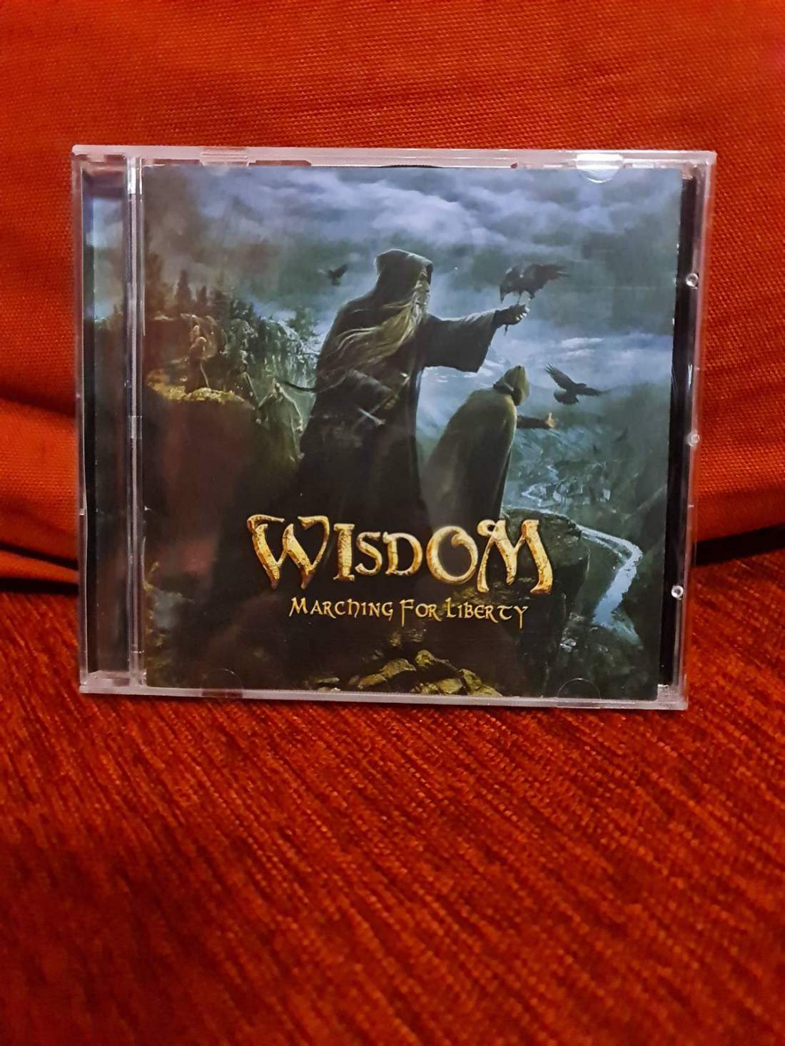 WISDOM - MARCHING FOR LIBERTY CD