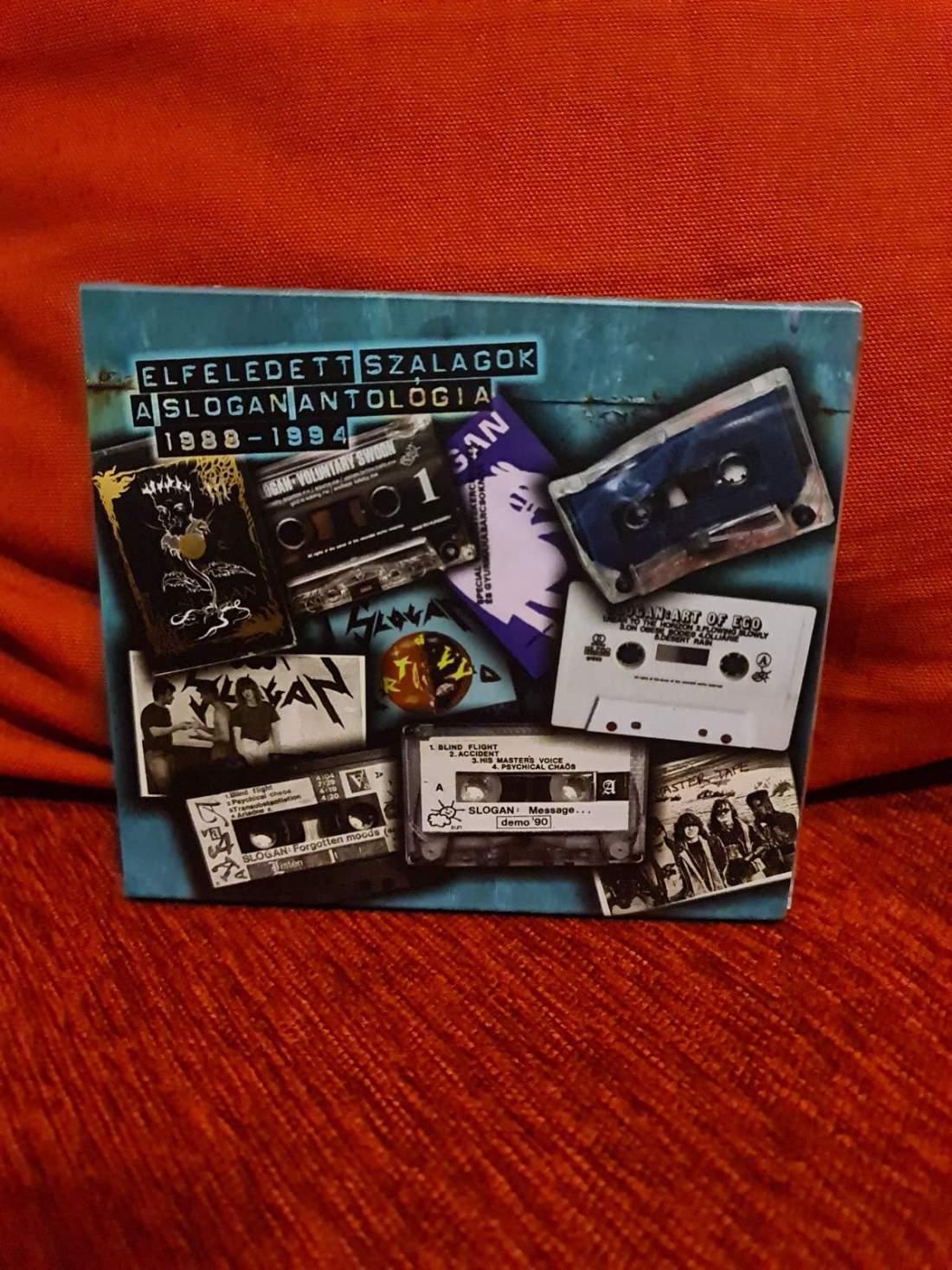 SLOGAN ANTOLÓGIA 1988-1994 - ELFELEDETT SZALAGOK 3CD