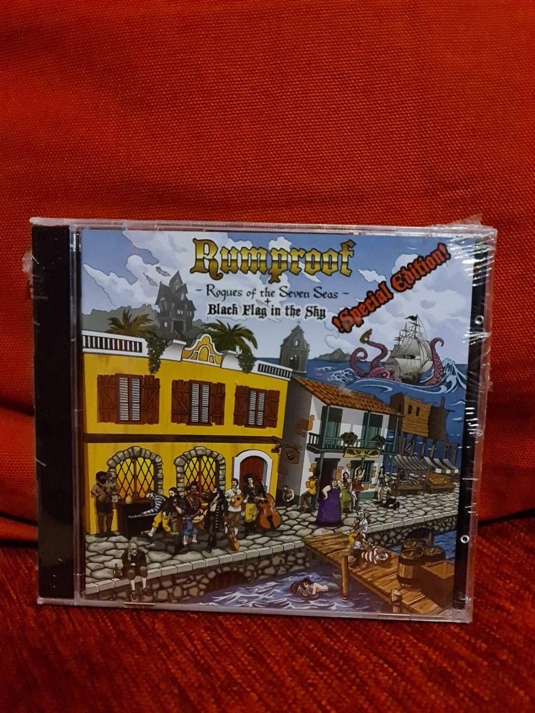 RUMPROOF - ROGUES OF THE SEVEN SEAS + BLACK FLAG IN THE SKY CD