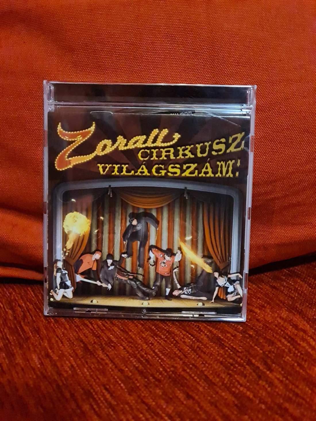 ZORALL - CIRKUSZ VILÁGSZÁM CD