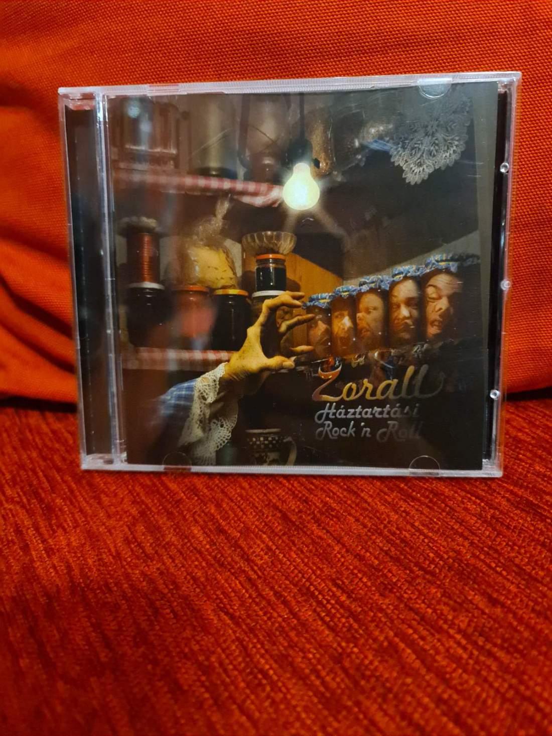 """ZORALL - HÁZTARTÁSI ROCK """"N"""" ROLL CD"""