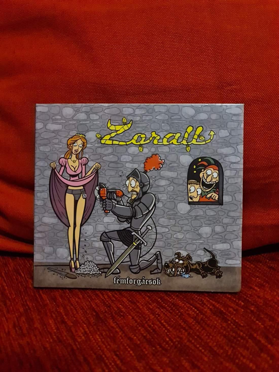 ZORALL - FÉMFORGÁCSOK CD