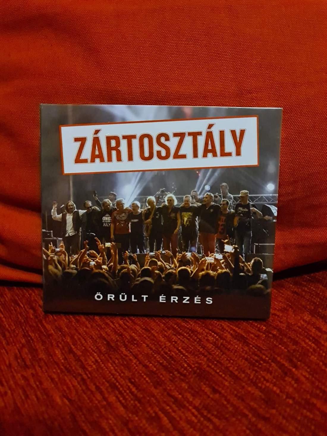 ZÁRTOSZTÁLY - ŐRÜLT ÉRZÉS 2CD+DVD