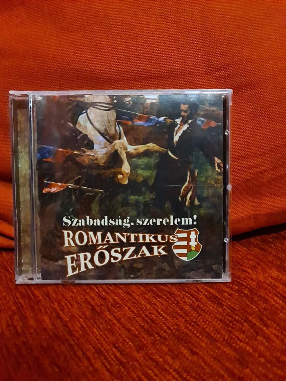 ROMANTIKUS ERŐSZAK - SZABADSÁG SZERELEM CD