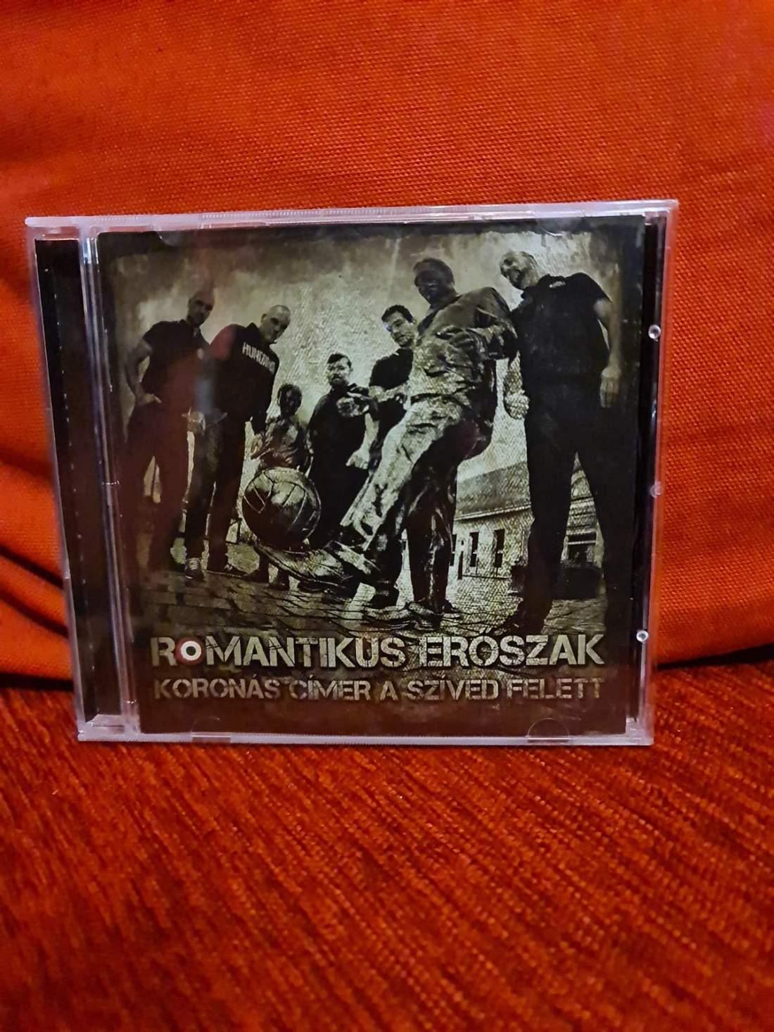 ROMANTIKUS ERŐSZAK - KORONÁS CÍMER A SZÍVED FELETT CD