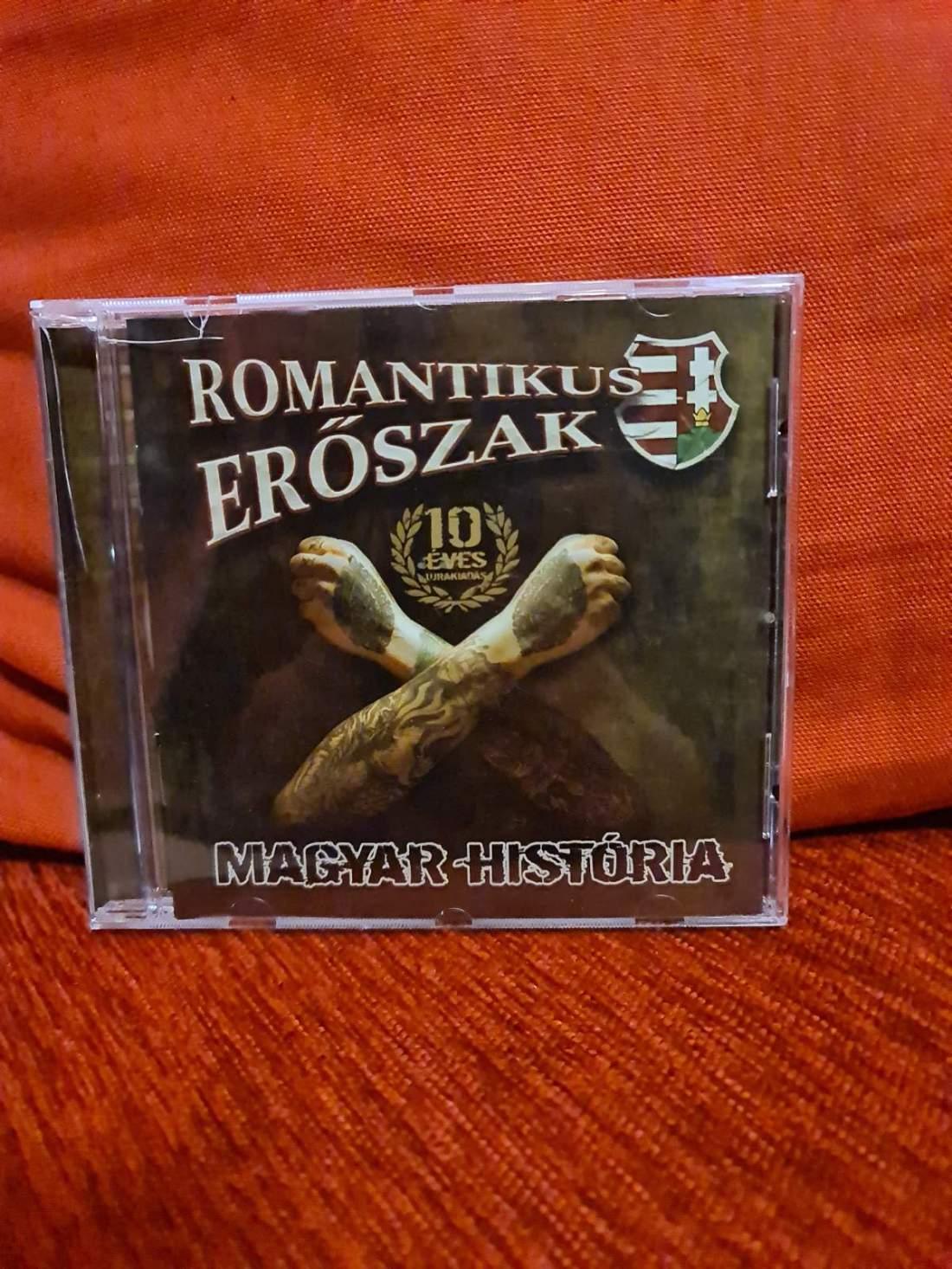 ROMANTIKUS ERŐSZAK - MAGYAR HISTÓRIA X CD