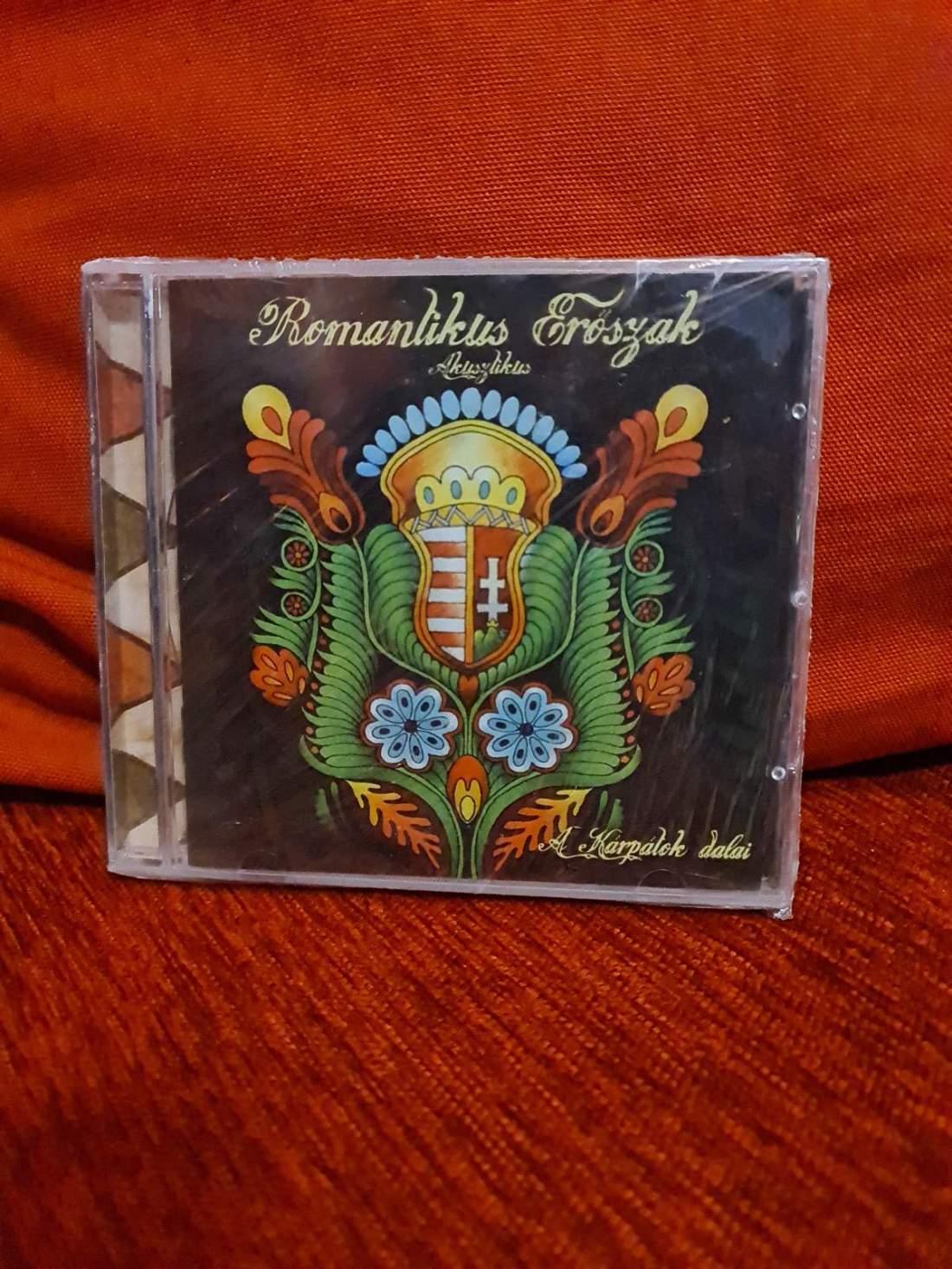 ROMANTIKUS ERŐSZAK - A KÁRPÁTOK DALAI CD