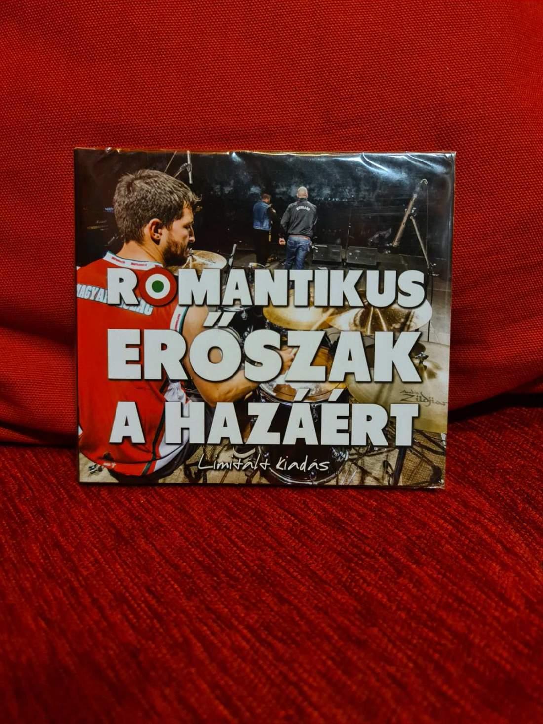 ROMANTIKUS ERŐSZAK - A HAZÁÉRT - LIMITÁLT CD