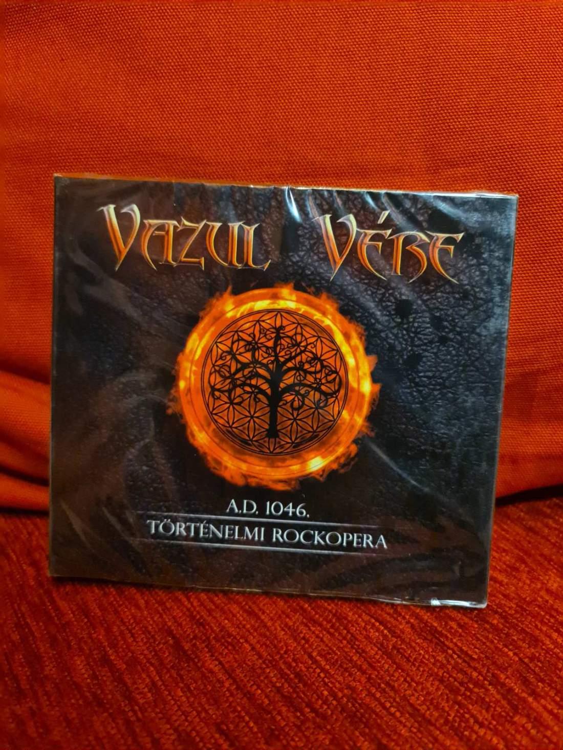 VAZUL VÉRE - ROCKOPERA 2CD